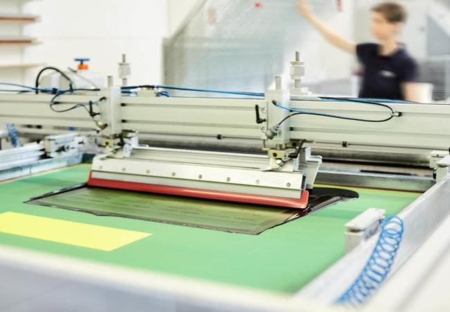 Druckerei für industrielle Aufkleber
