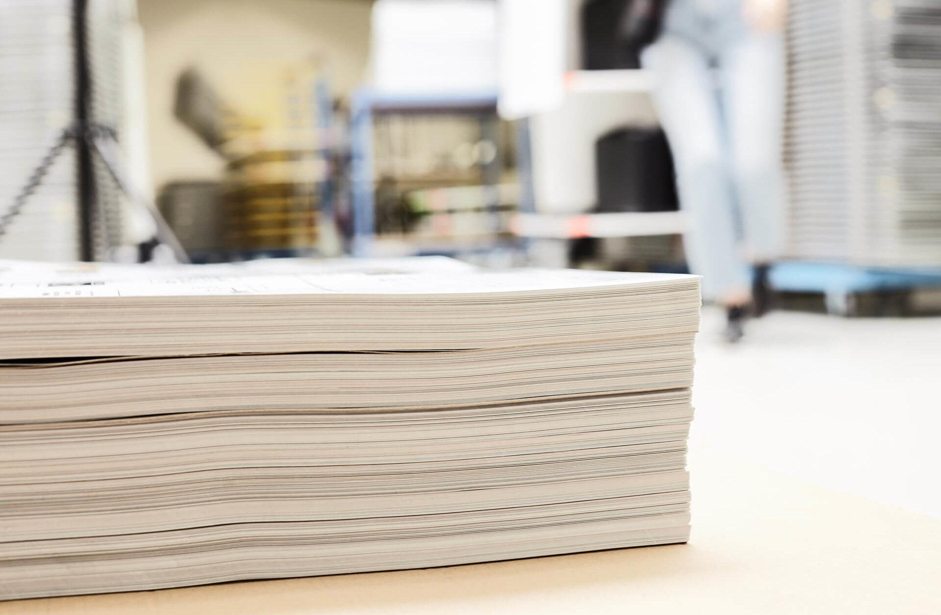 Industrielle Aufkleber im Sieb- und Digitaldruck